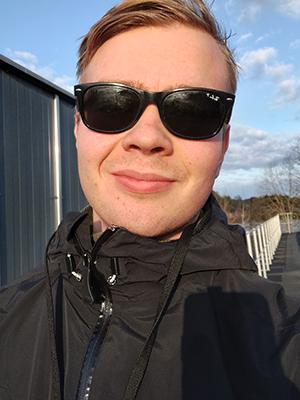 Axel Ekberg är före detta Newtonstudent